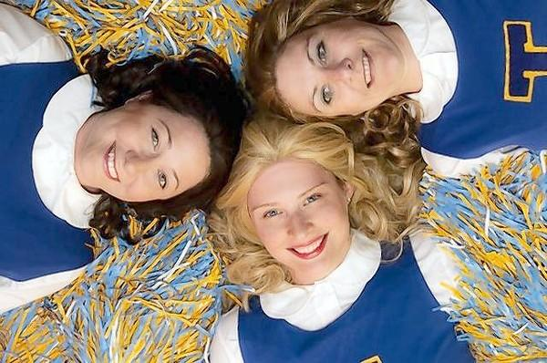 "Cast members of the Bay Street Players' production of ""Vanitites,"" from left, Mariah Lester (Black hair), Stephanie Kuzicki (Blonde) and SaraJane Olson (Brunette)."