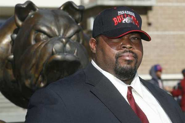Doug Bledsoe is the newly hired, but yet to be board approved, new head football coach at Pasadena High. Bledsoe is a former coach at Glendale Community College and Pasadena City College.