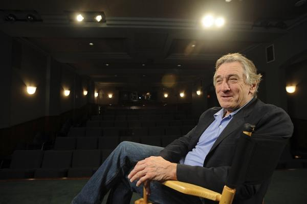 Robert De Niro will appear Monday at the American Cinematheque's Aero Theatre in Santa Monica.