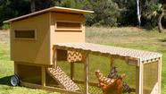 The Chicken Tractor: a coop for the modernist chicken