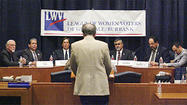Photo Gallery: League of Women Voters Burbank election forums