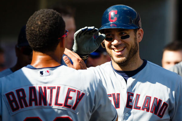 The former Indians first baseman/designated hitter has agreed to a one-year deal with the New York Yankees.