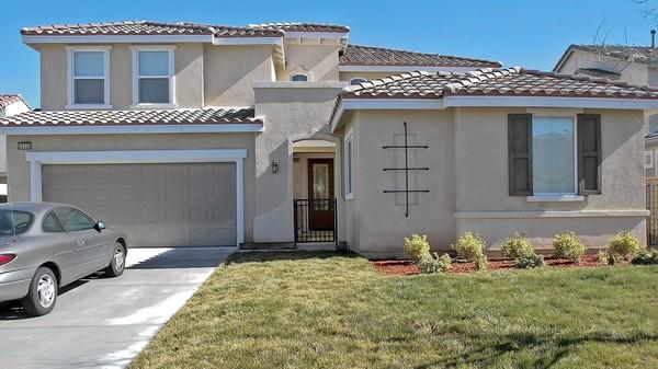 Shown is the home in Palmdale where Ingrid Brewer lived with the two children she is charged with torturing.