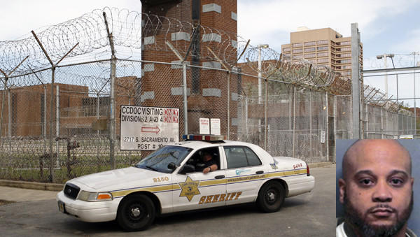 Steven L. Robbins, 44, was mistakenly released from the Cook County Jail Wednesday evening.