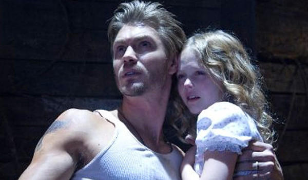 "Chad Michael Murray and Emily Alyn Lind in ""The Haunting in Connecticut 2: Ghosts of Georgia."""