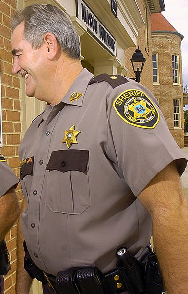Jesse W. Jones, chief deputy at the Jefferson County Sheriff's Department Department, is shown in this 2006 file photo. The commissioners appointed Jones, to serve as interim manager following Bobby Shirley's resignation.