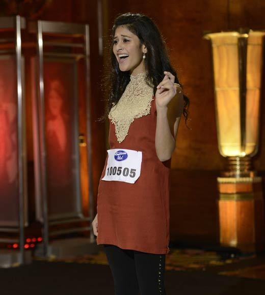 "Contestant Shubha Vedula had a very pretty voice, but it was hilarious listening to Keith Urban and Randy Jackson try to pronounce her name. By the end, we think they settled on ""Amelia Bedelia."""