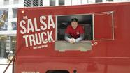 More than six months after the Chicago City Council legalized cooking onboard food trucks, the city on Thursday issued its first license for it to Dan Salls, owner of The Salsa Truck.