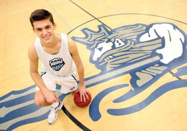Corona del Mar High's Blake Grable was the Daily Pilot High School Athlete of the Week in February.