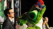 The guy on the stage last week conducting the question-and-answer session with front-office personnel, players and manager Charlie Manuel at the Phillies Winter Banquet may not have been instantly recognizable to the 1,100 people gathered at the Sands Event Center.