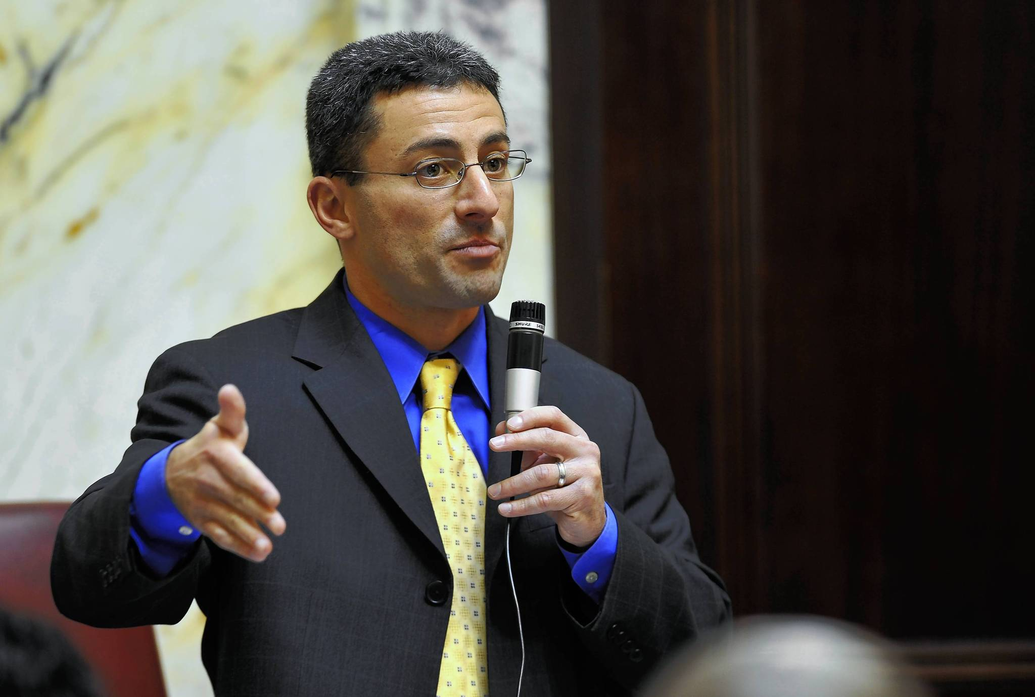 "District 11 Sen. Bobby Zirkin has been a proponent of a bill that would create a ""hyrbrid"" school board, made up of both elected and appointed members."