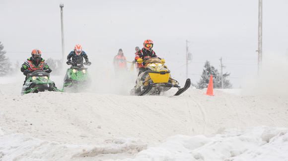 Conditions were ripe for snocross action last Saturday at the Otsego County Fairgrounds, where Michigan Xtreme Racing took place.