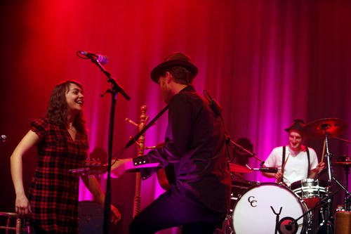 The Lumineers perform a sold-out concert at the Tower Theater in Upper Darby on January 31.