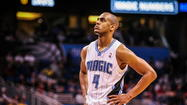 BOSTON — Arron Afflalo didn't participate in the Orlando Magic's shootaround this morning at TD Garden because of his strained left calf, and he's unlikely to play when the team faces the Boston Celtics tonight.