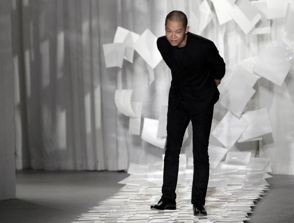 Designer Jason Wu in September 2011.