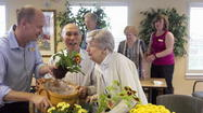Every day at 3 p.m., Jim Copenhaver visits his 80-year-old wife, Ann, who lives at an assisted-living facility in Vernon Hills for those with Alzheimer's disease and other forms of dementia.