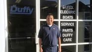 This week, I had the chance to meet with Gerardo Martinez, the service manager at the Duffy Electric Boat Company, located at 2439 West Coast Highway. Gerardo has been an employee of Duffy boats for 16 years.