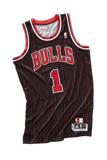 The Bulls 1995-96 road uniform
