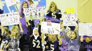 Harford schools celebrate Ravens going to Super Bowl