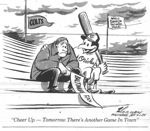 Sun archives: Baltimore Colts photos - Editorial cartoon