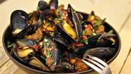 Brittany, on the Atlantic coast of France, is famous for its shellfish. The most prized oysters come from Cancale, and the <em>bouchot</em> mussels, just an inch or so long, are tender and sweet. One bowl of those dainty mussels steamed in white wine and shallots turned me into a lifetime mussel lover. Here, Carlsbad Aquafarm in San Diego County sells bags of mussels grown off the California coast at the Hollywood and Santa Monica farmers markets. You can also find some wonderful mussel dishes at restaurants.