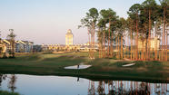 "Grande Villas at World Golf Village® resort in St. Augustine is a hole in one. Enjoy spacious two-bedroom villas, a refreshing heated pool that sparkles under the warm Florida sun and two championship golf courses on perfectly manicured greens designed by legendary golf pros Jack Nicklaus and Arnold Palmer. This is the ultimate place for active families who want to enjoy country club living at its best. St. Augustine is famous for being the Nation's Oldest City--let your spirit soar as you discover its historical heritage in the place Forbes magazine calls one of the ""Top 10 Prettiest Towns."""