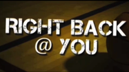 VIDEO Right Back @ You with Matt Vensel