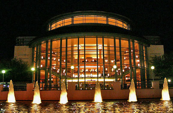 Catch a show at the Kravis Center for the Performing Arts in West Palm Beach, Fla.