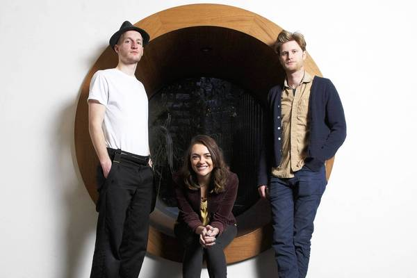 The Lumineers: Jeremiah Fraites, left, Neyla Pekarek and Wesley Schultz at the Dream Downtown Hotel in New York.