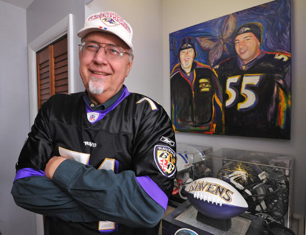 Ravens fan Jim Daly purchased six PSLs when the Ravens' football stadium was built. He sold them a few years ago, making a $13,000 profit.