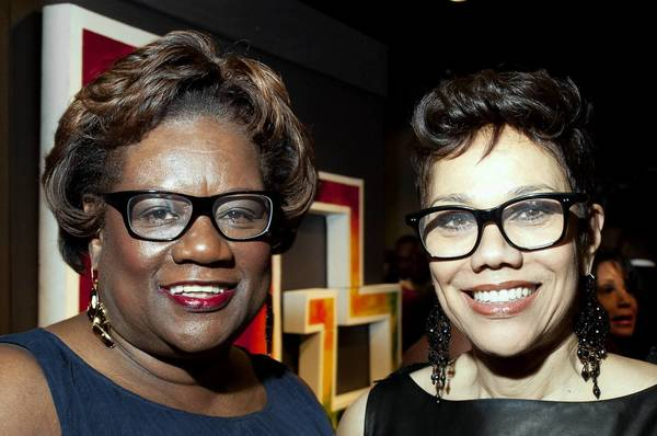 Patricia Keenan and Barbara Bates at the Black Creativity Gala at the Museum of Science and Industry in Chicago, Il. on Saturday January 26, 2013.