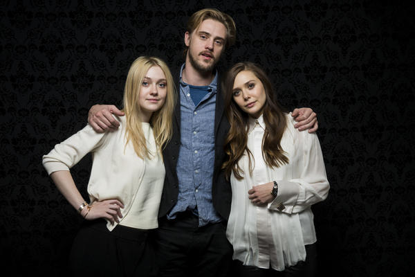 "Dakota Fanning, left, is going nude in her newest film ""Very Good Girls.""  In Naomi Former's coming-of-age film, Fanning, 19, plays a girl who makes a pact with her best friend (played by Elizabeth Olsen) to lose their virginity before they start college. They both fall for the same guy and, naturally, their friendship is at risk. As for baring it all in her first sex scene...  ""Yeah, well, I've never done that before and I'm very newly allowed to do that,"" she told MTV News at the Sundance Film Festival. ""I was newly 18, so yeah, it was -- it's kind of a sensitive thing, but it's a part of life.""  <br><br> <strong>Full story:</strong> <a href=""http://www.latimes.com/entertainment/gossip/la-et-mg-dakota-fanning-nude-very-good-girls-20130131,0,4641146.story"">Dakota Fanning going -- ahem -- very nude in 'Very Good Girls'</a> 