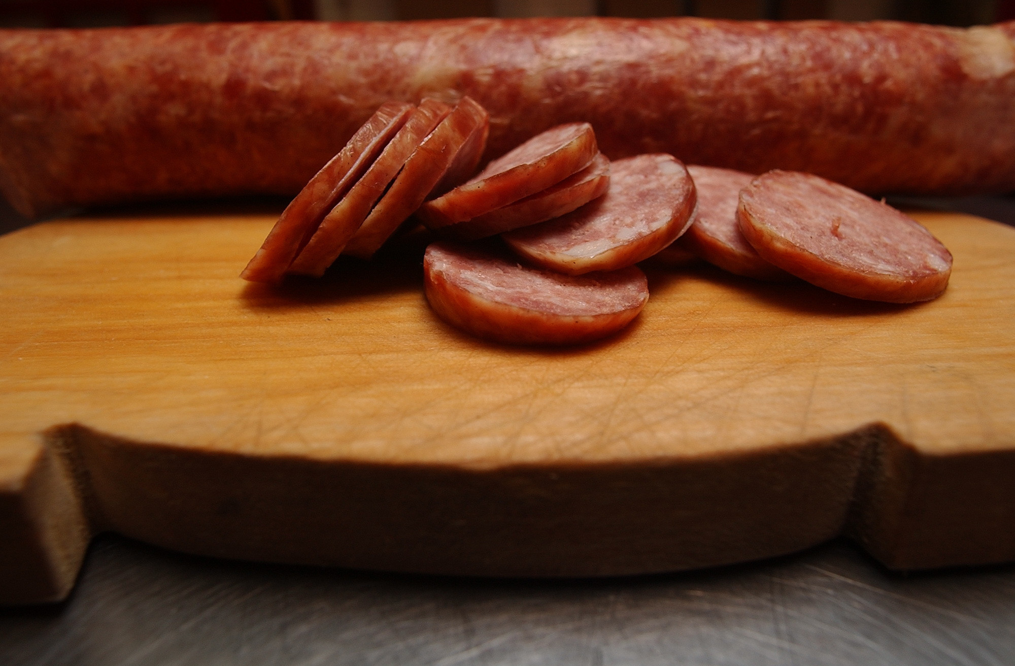 50 things Baltimore foodies must try [Pictures] - Polish sausage from one of the two Ostrowski shops.