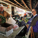 Take a Sunday morning stroll through the JFX Farmer's Market.