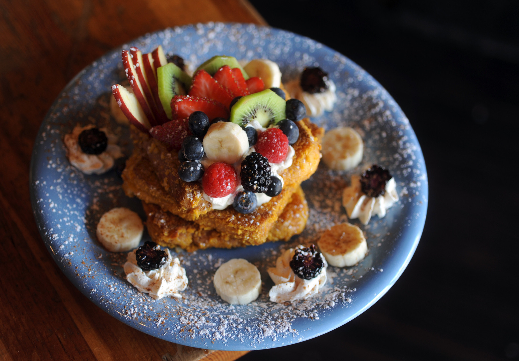 50 things Baltimore foodies must try [Pictures] - Breakfast at Blue Moon Cafe down in Fells Point.