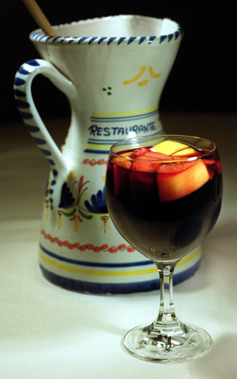 50 things Baltimore foodies must try [Pictures] - Order a Tio Pepe sangria (red). It contains fruit, so it counts as food!