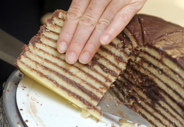 50 things Baltimore foodies must try [Pictures] - Smith Island Cake, but only from Sugarbakers.
