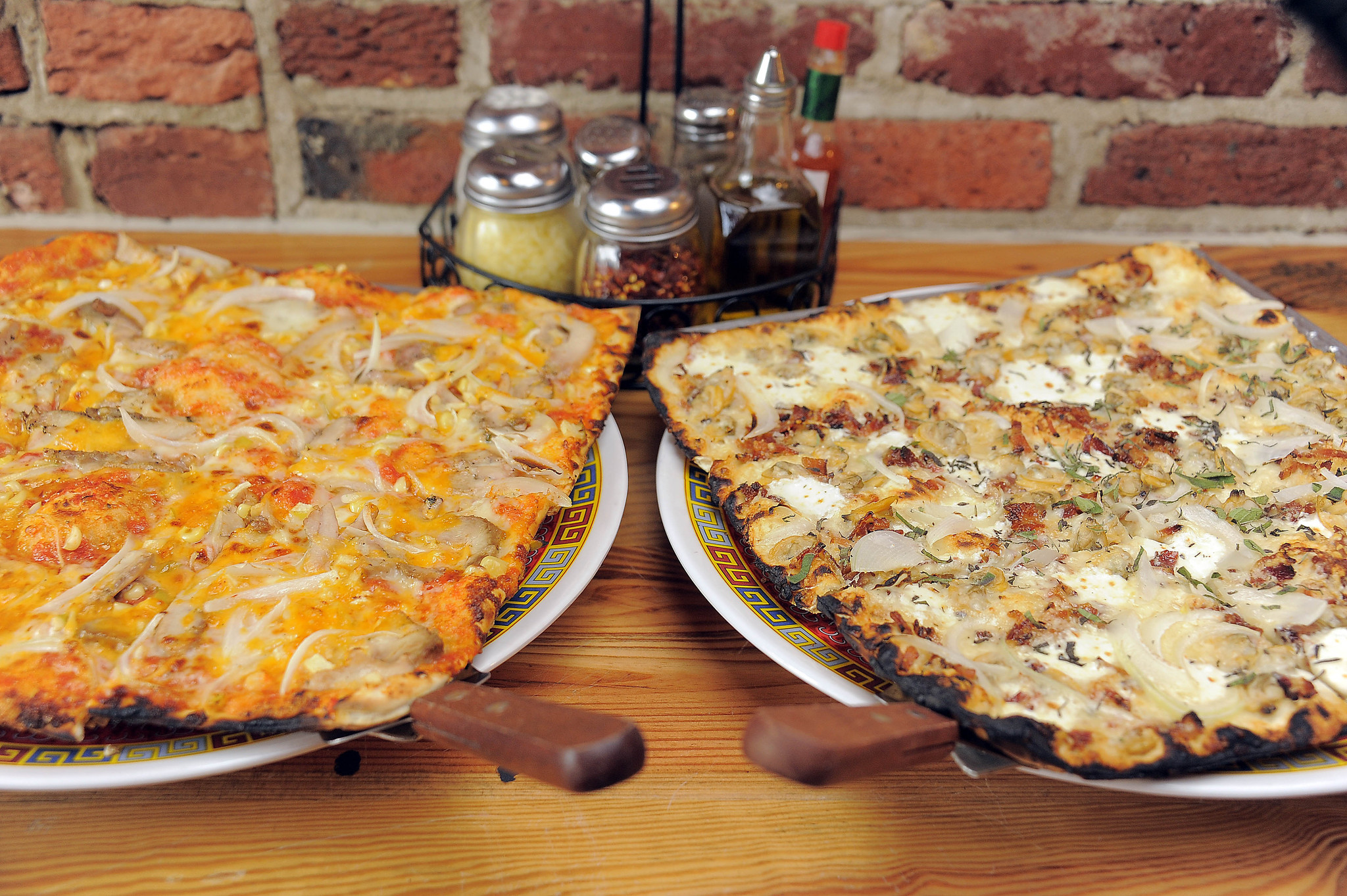 50 things Baltimore foodies must try [Pictures] - Thin crust pizza! Iggies and Joe Squared.