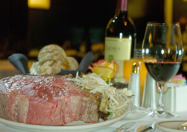 50 things Baltimore foodies must try [Pictures] - Prime rib at the Prime Rib.