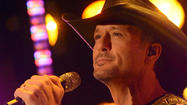 Country star Tim McGraw now sober, new album due Feb. 5