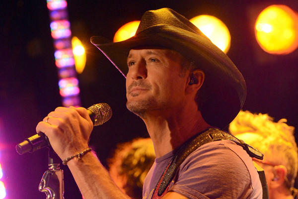 "Tim McGraw performs on ABC's ""Good Morning America."""
