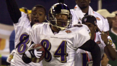 Jermaine Lewis reflects on return TD in Super Bowl XXXV, more