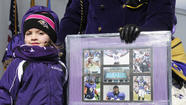 Hot for the Ravens, Bel Air fans rally in the cold Friday