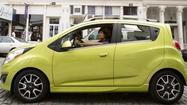 City dwellers and those who have trouble parallel parking: Rejoice! Chevrolet has introduced the Spark, the first minicar that the bow-tie brand has sold in the United States.