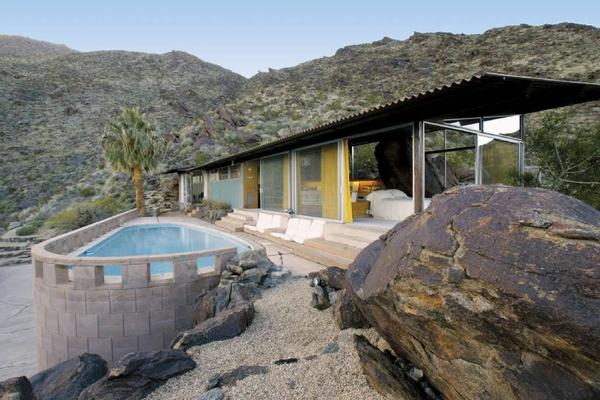 The Frey House II, the landmark residence by architect Albert Frey, will be open for tours during Palm Springs Modernism Week.