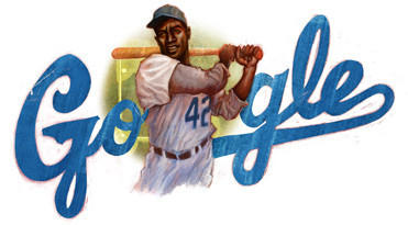"Over the course of his lifetime, Jackie Robinson made a name for himself not only in baseball but also in American business. L.A. has a special link to Robinson  -- he attended high school in Pasadena and then went on to UCLA for college.<br><b>More: </b> <a href=""http://www.latimes.com/sports/sportsnow/la-sp-sn-jackie-robinson-google-doodle-20130131,0,2576548.story"" target=""_blank"">A new film about the legend is in production</a>"