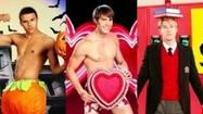 'Glee': Meet the hot guys of the Men of McKinley High calendar