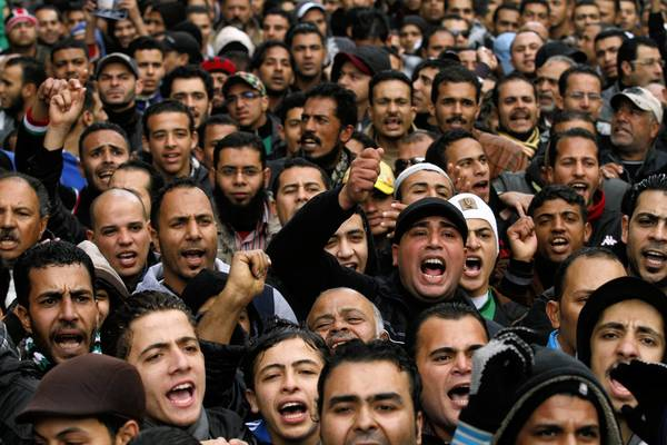 Egyptian protesters demonstrate in Port Said, where some people are calling for the city to secede.