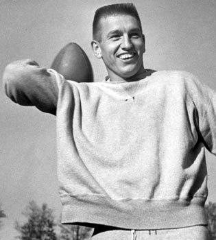 Sun archives: Baltimore Colts photos - John Unitas in 1958