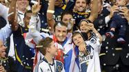 David Beckham's plan to play for Paris-St. Germain drew warm wishes Friday from the Galaxy, which Beckham helped lead to a second consecutive Major League Soccer title two months ago.